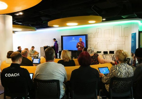 NHC HOSTS MICROSOFT ACCESSIBILITY WORKSHOP