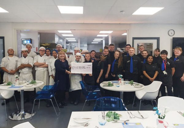 CATERING AND HOSPITALITY STUDENTS HOST AN AFTERNOON TEA