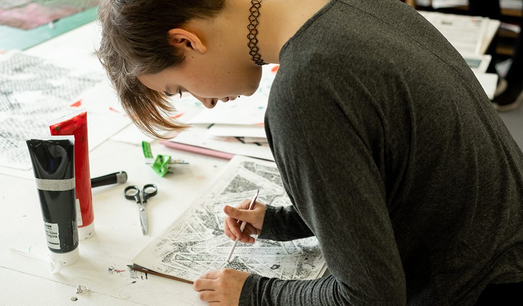LEVEL 1 DIPLOMA IN ART AND DESIGN AND MEDIA