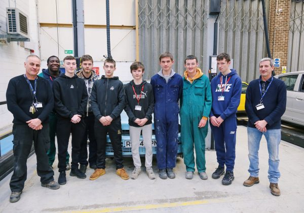 NHC STUDENTS TAKE ON THE FIAT PROJECT
