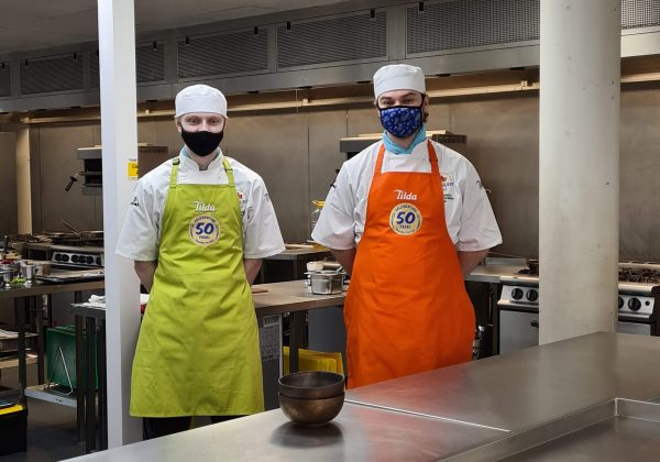 OUR CATERING STUDENTS TOOK PART IN THE ZEST QUEST ASIA TILDA CHALLENGE FINALS