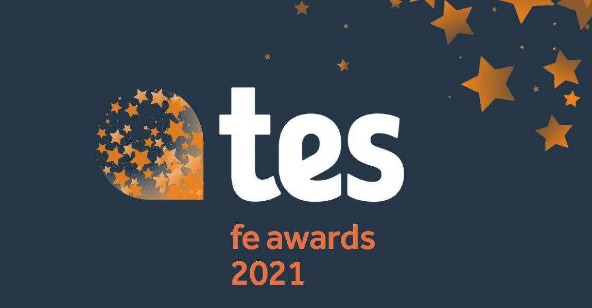NORTH HERTFORDSHIRE COLLEGE HAS BEEN SHORTLISTED FOR TES FE AWARDS 2021