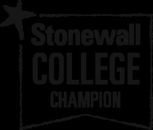 Stonewall College Champion logo