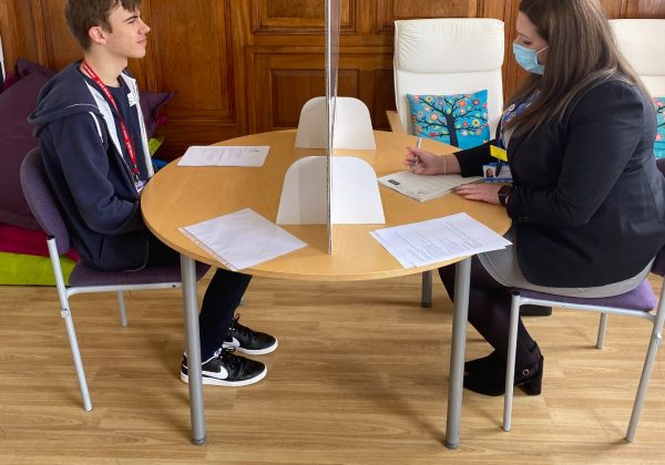 LOCAL EMPLOYERS SUPPORT SPRINGBOARD STUDENTS WITH MOCK INTERVIEWS